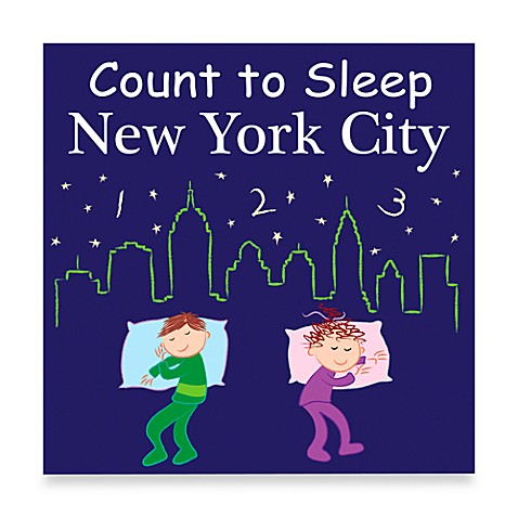 Count to Sleep Board Book in New York City