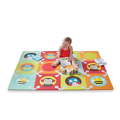 skip*hop® floor mat with foam tiles in zoo - buybuy baby