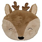Pet Pillow Deer Throw Pillow in Brown
