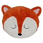 Pet Pillow Fox Throw Pillow in Orange