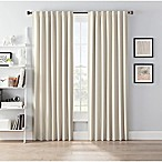 SmartBlock™ Chroma 84-Inch Rod Pocket Blackout Window Curtain Panel in Tan
