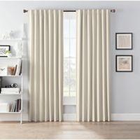 SmartBlock™ Chroma 84-Inch Rod Pocket 100% Blackout Window Curtain Panel in Tan