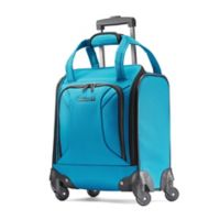 American Tourister® Zoom 16-Inch Spinner Underseat Luggage in Teal