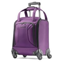 American Tourister® Zoom 16-Inch Spinner Underseat Luggage in Purple