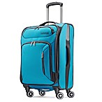 American Tourister® Zoom 21-Inch Checked Spinner Carry On in Teal