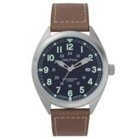 Nautica® Battery Park Men's 44mm NAPBTP002 Water Resistant Watch