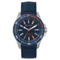 Nautica® Men's 44mm NAPJBC002 Jones Beach Watch in Blue