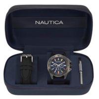 Nautica® Miami Men's 44mm NAPMIA008 Watch Gift Set