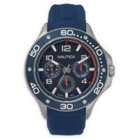 Nautica® Men's 44mm NAPP25002 Pier 25 Watch in Blue