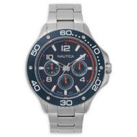 Nautica® Men's 48mm NAPP25006 Pier 25 Watch