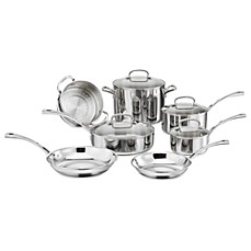 Cuisinart® French Classic Tri-Ply Stainless 11-Piece Cookware Set and Open Stock