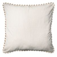 Opus 25-Inch Square European Throw Pillow in Natural