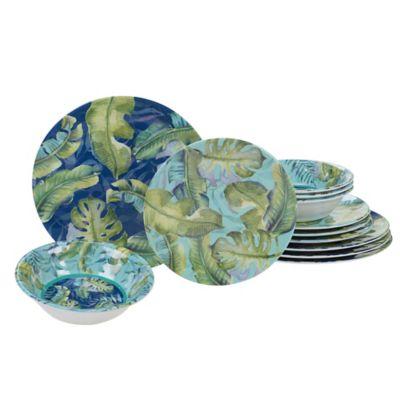 Certified International Tropicana 12-Piece Dinnerware Set  sc 1 st  Bed Bath u0026 Beyond & Buy Tropical Casual Dinnerware from Bed Bath u0026 Beyond