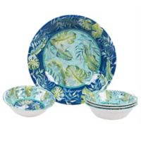 Certified International Tropicana 5-Piece Salad/Serving Set