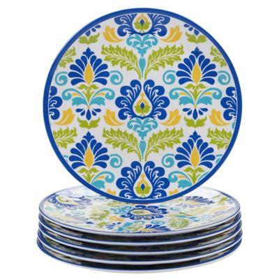 Certified International Martinique Dinner Plates (Set of 6)  sc 1 st  Bed Bath \u0026 Beyond & Buy Blue Dinner Plates Sets from Bed Bath \u0026 Beyond