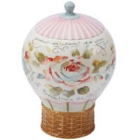 Certified International Beautiful Romance Balloon 3D Cookie Jar
