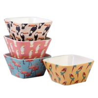 Certified International Paradise Ice Cream Bowls (Set of 4)