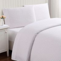 Truly Soft Everyday Dot Twin XL Sheet Set in Pink