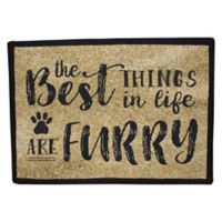 """Park B. Smith """"Best Things Are Furry"""" Pet Placemat"""