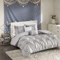 Intelligent Design Benny Full/Queen Comforter Set in Grey