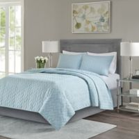 Madison Park Noel Full/Queen Coverlet Set in Blue