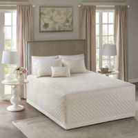 Madison Park Breanna Full/Queen Bedspread Set in Ivory