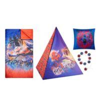 Spiderman 4-Piece Teepee Tent Set