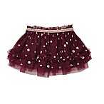 Baby Starters® Size 9M Rose Gold Flower Tutu Skirt in Berry