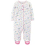 carter's® Size 3M Ditsy Floral Footed Coverall in Ivory