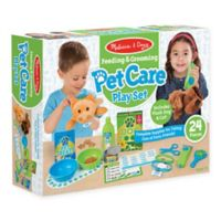 Melissa & Doug® Feeding & Grooming Pet Care 24-Piece Playset