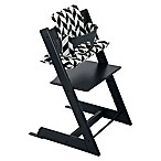 Stokke® 4-Piece Tripp Trapp® High Chair Complete Bundle Set in Black