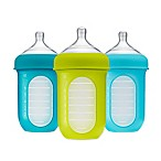 Boon NURSH™ 3-Pack 8 fl. oz. Silicone Standard-Neck Pouch Bottles in Blue