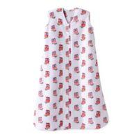 HALO® SleepSack® Small Owl Wearable Fleece Blanket in Pink