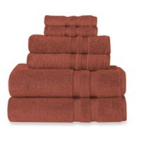 Wamsutta® Ultra Soft 6-Piece Bath Towel Set in Rusty Coral