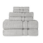 Wamsutta® Ultra Soft 6-Piece Bath Towel Set in Silver