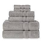 Wamsutta® Ultra Soft 6-Piece Bath Towel Set in Sterling