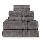 Wamsutta® Ultra Soft 6-Piece Bath Towel Set in Charcoal