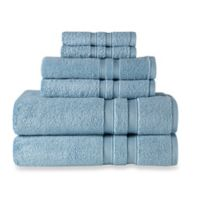 Wamsutta® Ultra Soft 6-Piece Bath Towel Set in Aqua