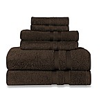 Wamsutta® Ultra Soft 6-Piece Bath Towel Set in Chocolate