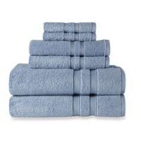 Wamsutta® Ultra Soft 6-Piece Bath Towel Set in Cornflower