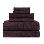 Wamsutta® Ultra Soft 6-Piece Bath Towel Set in Deep Purple
