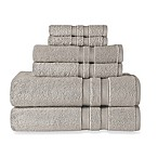 Wamsutta® Ultra Soft 6-Piece Bath Towel Set in Grey