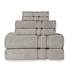 Wamsutta® Ultra Soft 6-Piece Bath Towel Set in Fog