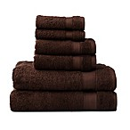 Wamsutta® 6-Piece Hygro® Duet Bath Towel Set in Java