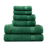 Wamsutta® 6-Piece Hygro® Duet Bath Towel Set in Spruce
