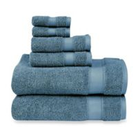 Wamsutta® 6-Piece Hygro® Duet Bath Towel Set in Teal