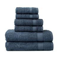 Wamsutta® 6-Piece Hygro® Duet Bath Towel Set in New Blue