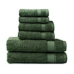 Wamsutta® 6-Piece Hygro® Duet Bath Towel Set in Sage