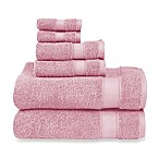 Wamsutta® 6-Piece Hygro® Duet Bath Towel Set in Rose Quartz