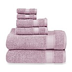 Wamsutta® 6-Piece Hygro® Duet Bath Towel Set in Orchid Ice